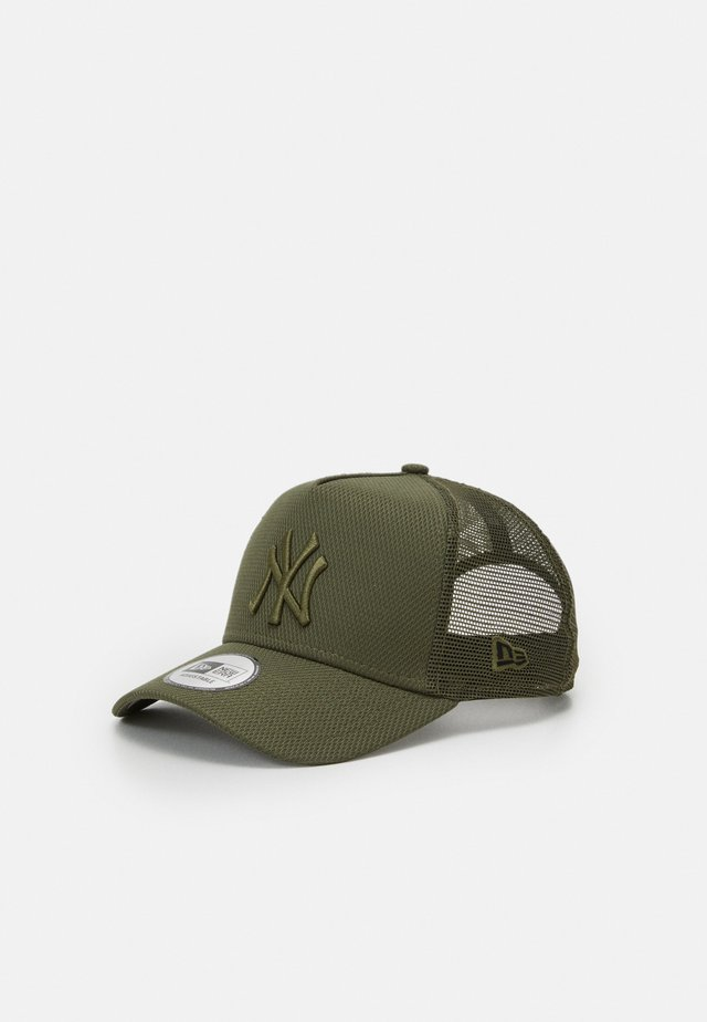 DIAMOND ESSENTIAL TRUCKER - Cap - olive
