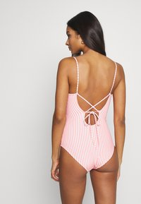 Monki - ALICE SWIMSUIT - Maillot de bain - orange medium - 2