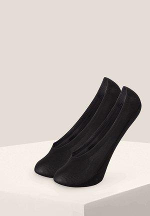 2 PAIRS - Füßlinge - black