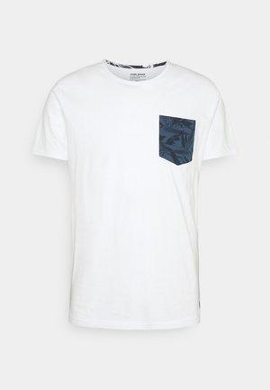 TEE - T-shirt imprimé - bright white