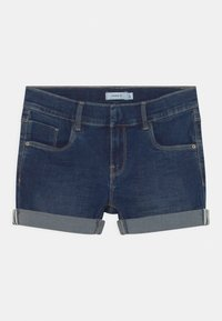 Name it - NKFSALLI - Denim shorts - dark blue denim - 0