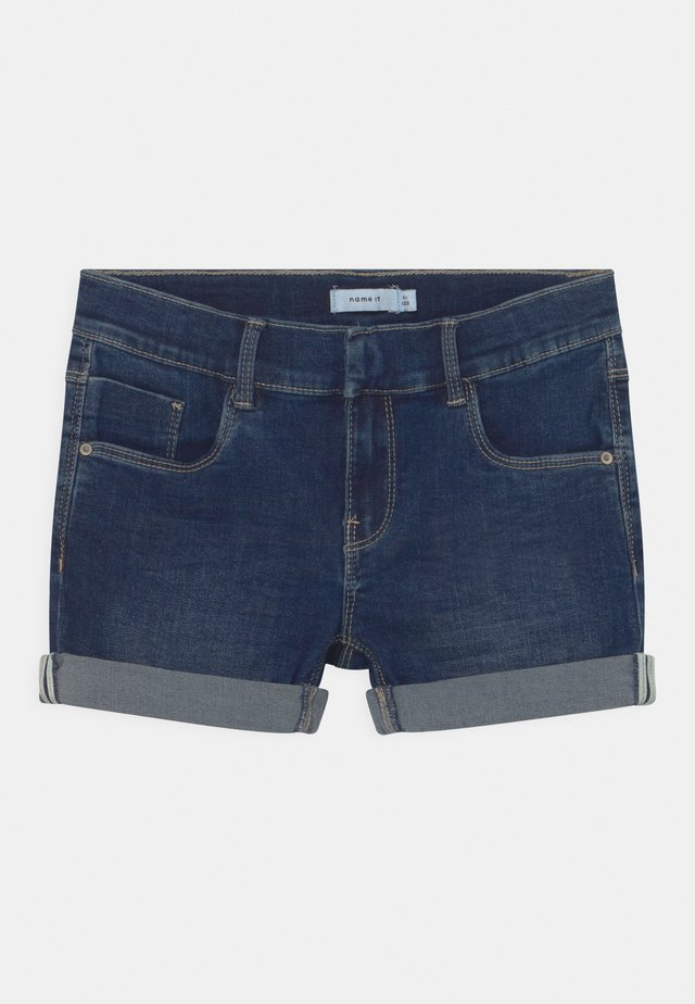 NKFSALLI - Shorts di jeans - dark blue denim