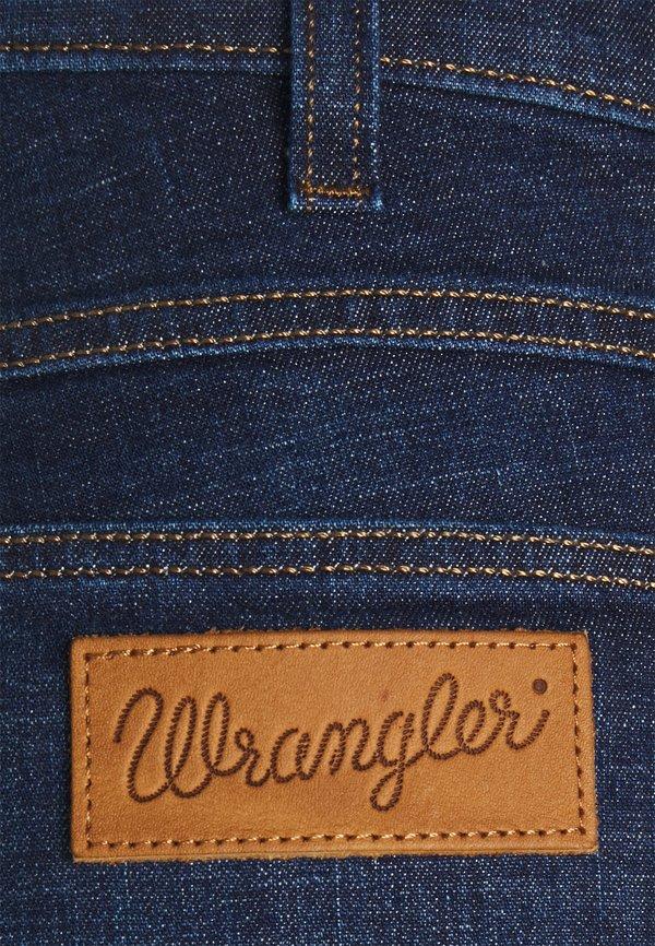 Wrangler LARSTON - Jeansy Slim Fit - rinse/shine/niebieski denim Odzież Męska EDCY