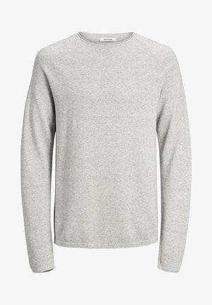 JJEHILL - Sweter - light grey melange