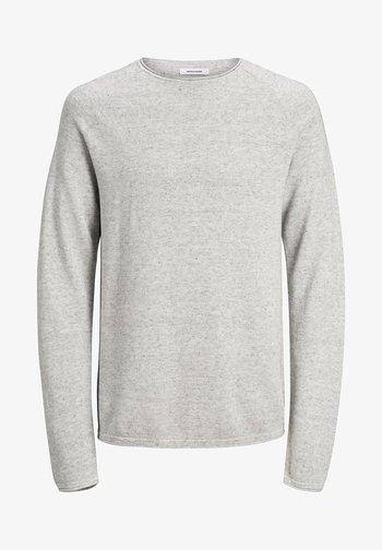 JJEHILL - Jersey de punto - light grey melange