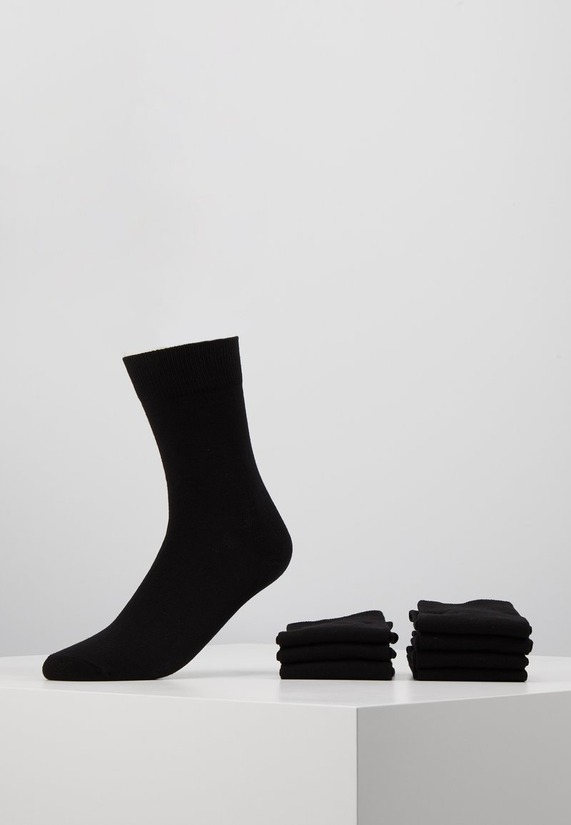 Pier One - 7 PACK - Socks - black