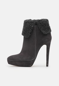 Even&Odd - LEATHER - Winter boots - grey - 1