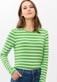 BRAX - STYLE CARINA - Long sleeved top - green - 0