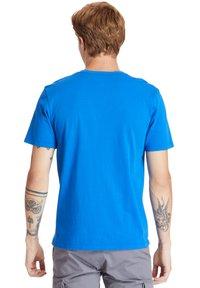 Timberland - KENNEBEC RIVER PUFF EFFECT GRAPHIC - Print T-shirt - nautical blue - 2