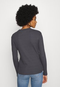 Even&Odd - Long sleeved top - dark grey - 2