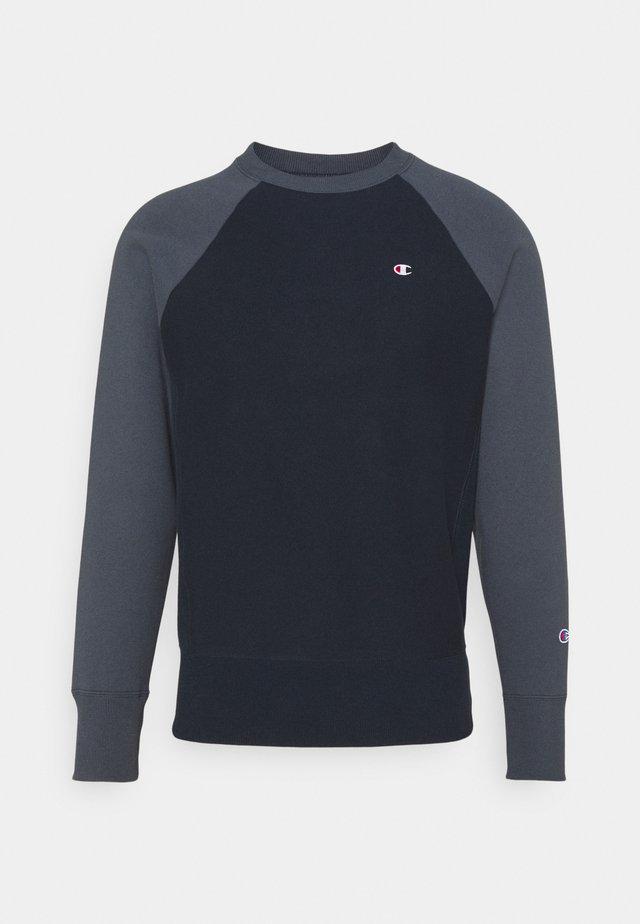 CREWNECK - Sweater - black/dark blue