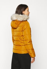 Vero Moda Petite - VMMOLLIE SHORT JACKET - Light jacket - buckthorn brown - 2
