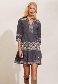 Odd Molly - LEILANI - Day dress - asphalt - 0