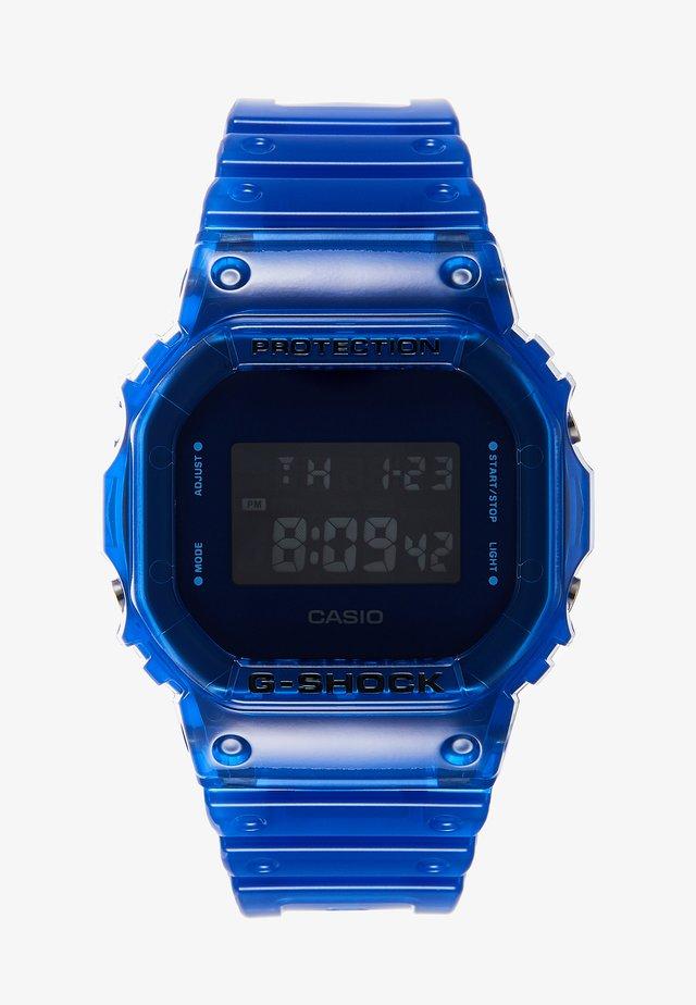 DW-5600 SKELETON - Digitalure - blue