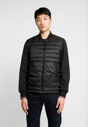 MIX MEDIA BOMBER - Light jacket - black