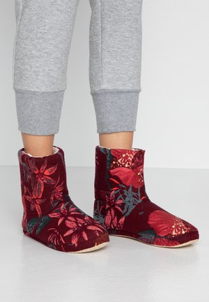 ACCESSORIES BOOT - Domácí obuv - woodrose