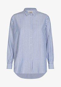 Mos Mosh - Button-down blouse - bel air blue - 2