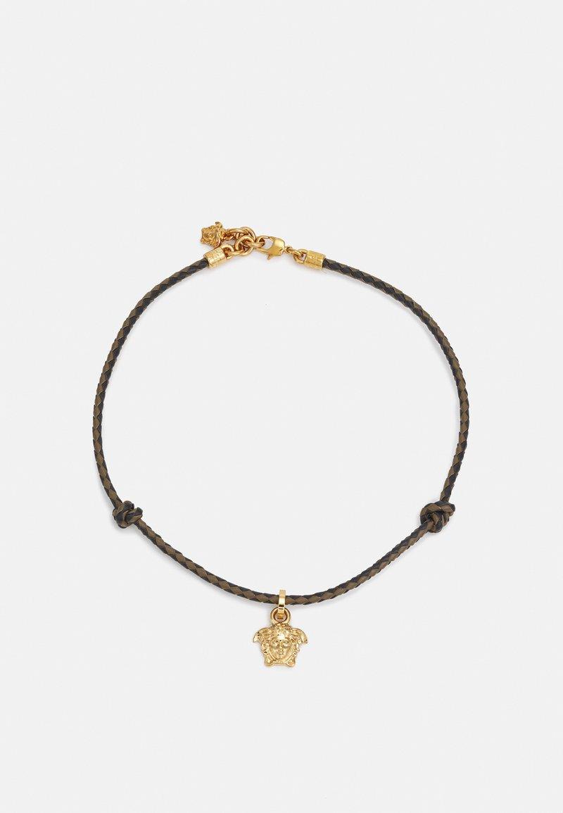 Versace - FASHION JEWELRY UNISEX - Necklace - khaki/nero/oro