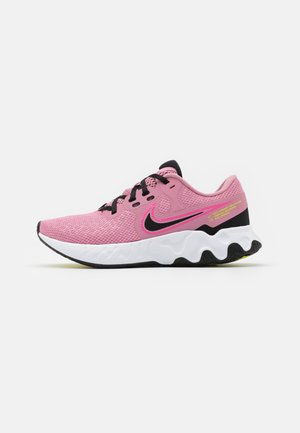 RENEW RIDE 2 - Zapatillas de running neutras - elemental pink/black/pink glow/cyber
