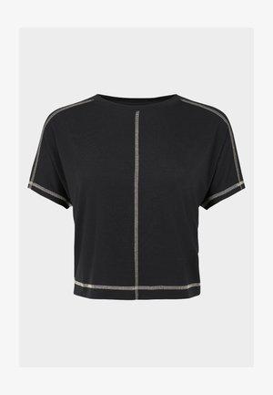 SWEATY BETTY X HALLE BERRY PATIENCE SPLIT BACK TEE - Sportshirt - black