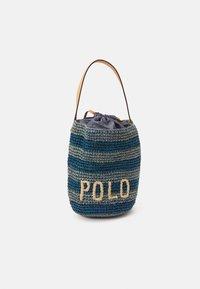 Polo Ralph Lauren - STRIPES BUCKET - Kabelka - blue/multi - 0