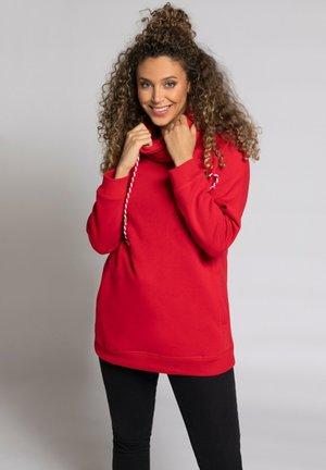 MIT STEHKRAGEN - Sweatshirt - salsa
