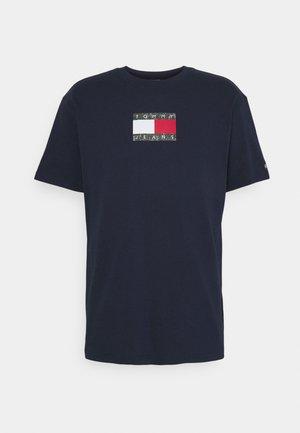 T-shirt print - twilight navy