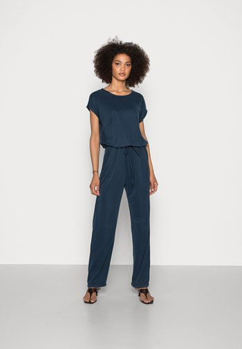 FAKE CUPRO OVER - Jumpsuit - navy