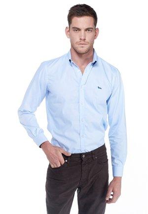 Formal shirt - blu scuro screziato