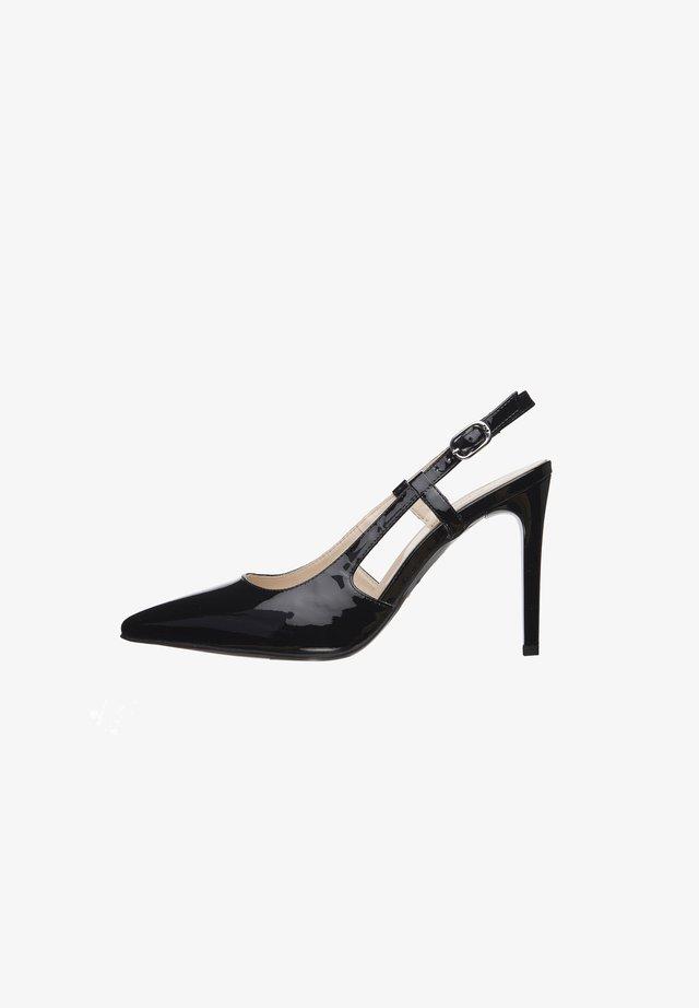 E011040DE - Classic heels - nero