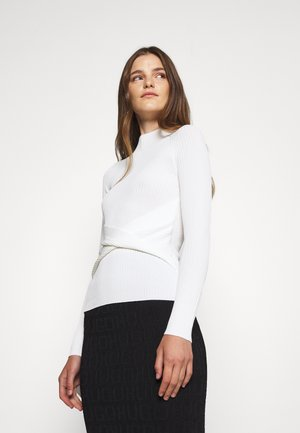 SHADETTA - Long sleeved top - natural