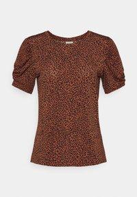 JDY - JDYKIRKBY - Print T-shirt - rustic brown - 0