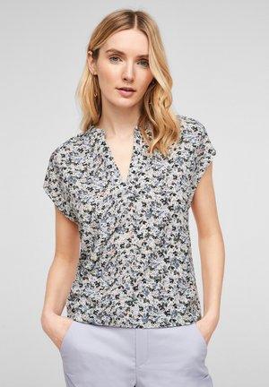 Print T-shirt - offwhite floral print