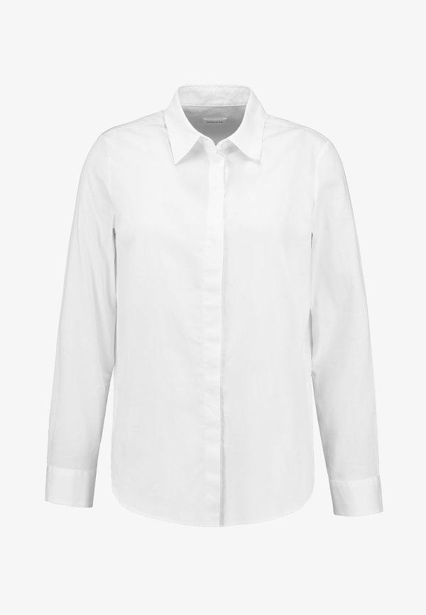 Seidensticker WASHER FASHION - Koszula - optical white/biały TVWL