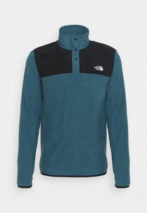 GLACIER SNAP NECK - Fleece jumper - blue