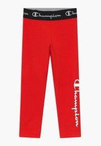 Champion - LEGACY AMERICAN CLASSICS LEGGINGS UNISEX - Legging - red - 0