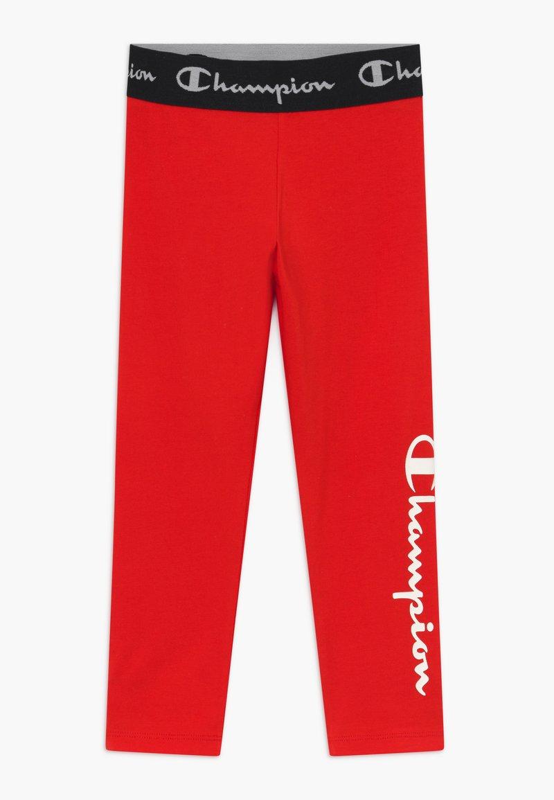 Champion - LEGACY AMERICAN CLASSICS LEGGINGS UNISEX - Legging - red