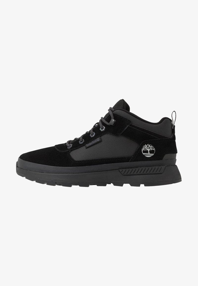 Timberland - FIELD TREKKER - Sneakersy niskie - black
