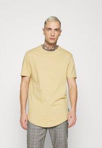 YOURTURN - UNISEX - T-shirt - bas - tan - 0