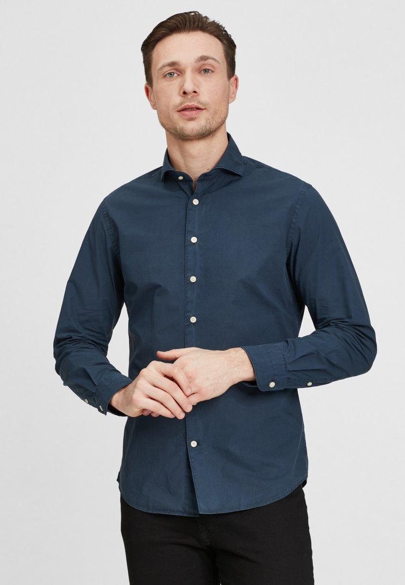 PROFUOMO - SLIM FIT  - Shirt - navy