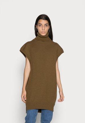 FLANNING - Print T-shirt - dark khaki