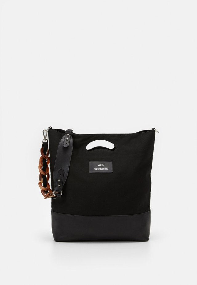 JOY - Shopping bag - black