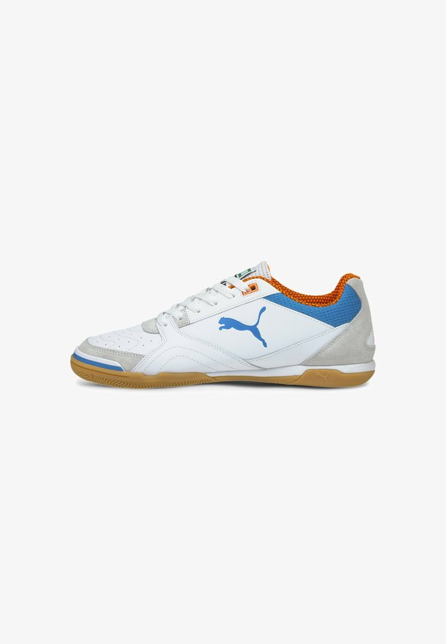 IBERO - Zaalvoetbalschoenen - white blue orange gum