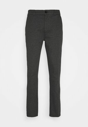BARRO ZIPPER - Trousers - black