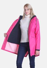 Dingy Rhythm Of The Rain - Parka - pink - 3