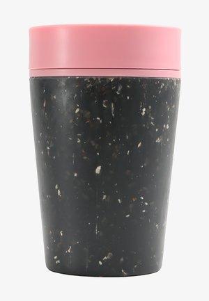 KAFFEEBECHER TO GO MIT DECKEL - 227ml - Övriga accessoarer - schwarz / pink