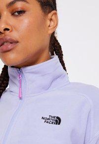 The North Face - GLACIER CROPPED ZIP - Fleece jumper - sweet lavender - 4