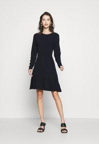 Scotch & Soda - DRESS IN FINE STRUCTURE - Day dress - night - 0