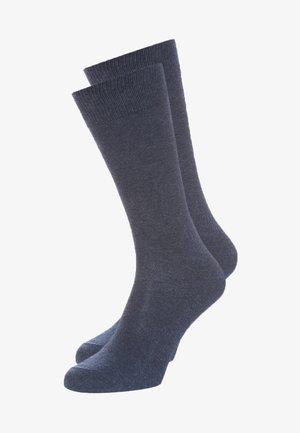 SWING 2-PACK - Socks - navyblue melange
