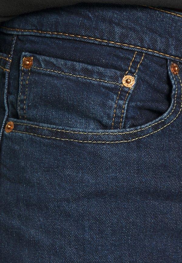 Levi's® 519™ EXT SKINNY HI-BALL B - Jeansy Skinny Fit - goth he bad od adv/ciemnoniebieski Odzież Męska LYMO
